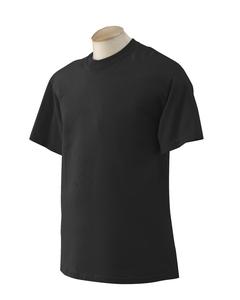 Black Moisture wicking performance t-shirt
